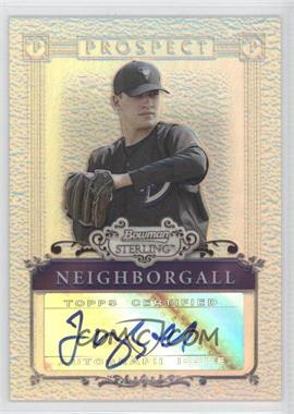 2006 Bowman Sterling - [Base] - Refractor Certified Autograph [Autographed] #BSP-JN - Jason Neighborgall /199