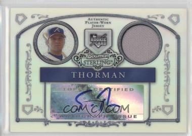 2006 Bowman Sterling - [Base] - Refractor #BS-ST - Scott Thorman /199