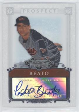 2006 Bowman Sterling - Prospect Certified Autographs - [Autographed] #BSP-PB - Pedro Beato