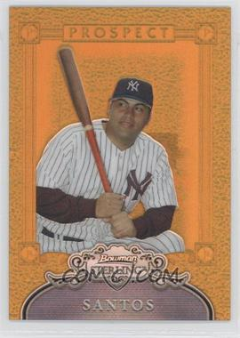 2006 Bowman Sterling - Prospects - Gold Refractor Non-Numbered #BSP-OS - Omir Santos /10
