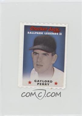 2006 Cracker Jack Ballpark Legends II - Food Issue [Base] #GAPE - Gaylord Perry