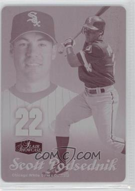 2006 Flair Showcase - [Base] - Printing Plate Magenta #67 - Scott Podsednik /1