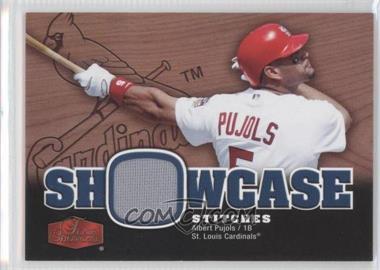2006 Flair Showcase - Showcase Stitches #SS-AP - Albert Pujols