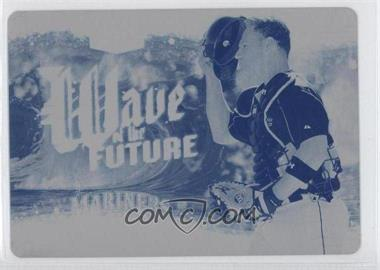 2006 Flair Showcase - Wave of the Future - Printing Plate Cyan #WF-22 - Guillermo Quiroz /1