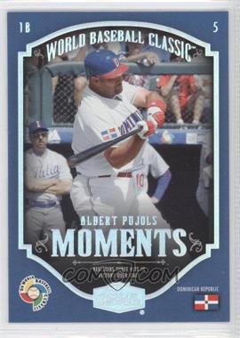 2006 Flair Showcase - World Baseball Classic Moments #CM-12 - Albert Pujols