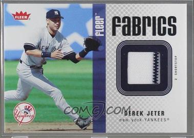 2006 Fleer - Fabrics #FF-DJ - Derek Jeter