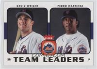 David Wright, Pedro Martinez