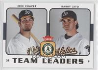 Eric Chavez, Barry Zito