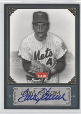2006 Fleer Greats of the Game - [Base] - Autographs #92 - Tom Seaver