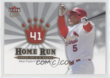 2006 Fleer Ultra - Home Run Kings #HRK1 - Albert Pujols