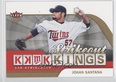 2006 Fleer Ultra - Strikeout Kings #SOK2 - Johan Santana