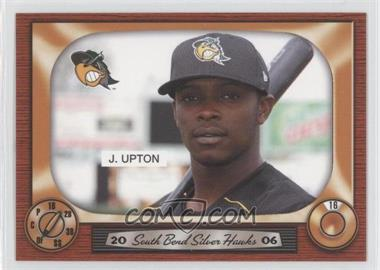 2006 Grandstand South Bend Silver Hawks - [Base] #16 - Justin Upton