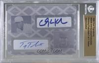 Clayton Kershaw, Troy Tulowitzki [BGS Encased] #/1