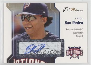 2006 Just Minors - Just Autographs - Autographs [Autographed] #52 - Erick San Pedro