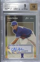Clayton Kershaw [BGS 9 MINT] #/50