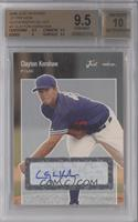 Clayton Kershaw [BGS 9.5 GEM MINT] #/100
