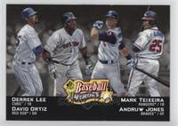 Derrek Lee, David Ortiz, Andruw Jones, Mark Teixeira