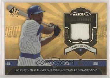 2006 SP Legendary Cuts - Baseball Chronology - Materials [Memorabilia] #BC-AD - Andre Dawson