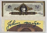 Johnny Mize #/70