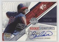 Rookie Signatures - Francisco Liriano /299