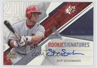 Rookie Signatures - Skip Schumaker #/999