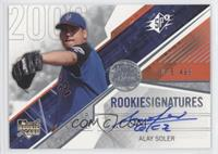 Rookie Signatures - Alay Soler /499