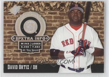2006 SPx - SPXtra Info #XI-DO - David Ortiz