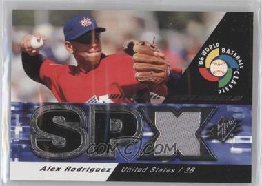2006 SPx - WBC Winning Materials #WM-AR - Alex Rodriguez