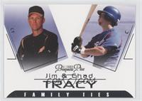 Jim Tracy, Chad Tracy
