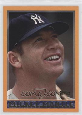 2006 Topps - Mickey Mantle Collection #MM1998 - Mickey Mantle