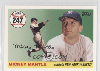 2006 Topps - Multi-Year Issue Mickey Mantle Home Run History #MHR247 - Mickey Mantle