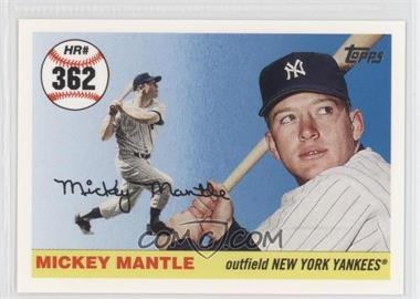 2006 Topps - Multi-Year Issue Mickey Mantle Home Run History #MHR362 - Mickey Mantle