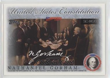 2006 Topps - United States Constitution Signers #SC-NGO - Nathaniel Gorman