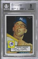 Mickey Mantle (Black Background) [BGS 9 MINT]
