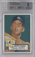 Mickey Mantle (Teal Background) [BGS 9 MINT]