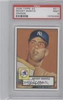 Mickey Mantle (Orange Background) [PSA 9 MINT]