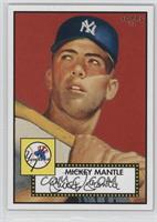 Mickey Mantle (Red Background)