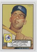 Mickey Mantle (Yellow Background)