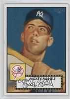 Mickey Mantle (Blue Background)