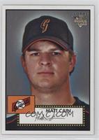 Matt Cain (Logo Variation)