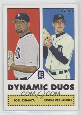 2006 Topps '52 - Dynamic Duos #DD3 - Joel Zumaya, Justin Verlander