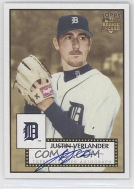 2006 Topps '52 - Signatures #52S-JV - Justin Verlander