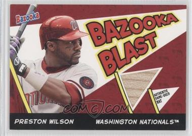 2006 Topps Bazooka - Blast Bats #BBL-PW - Preston Wilson