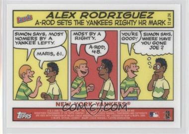 2006 Topps Bazooka - Comics #12 - Alex Rodriguez