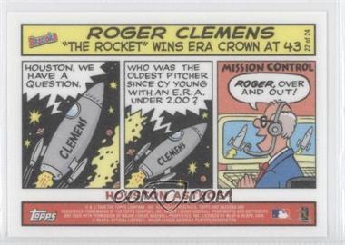 2006 Topps Bazooka - Comics #22 - Roger Clemens