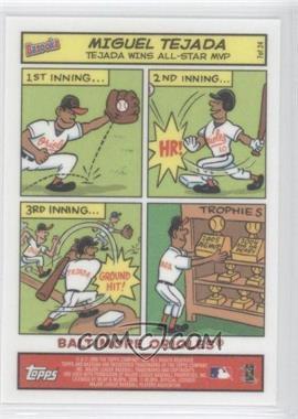 2006 Topps Bazooka - Comics #7 - Miguel Tejada