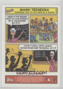 2006 Topps Bazooka - Comics #9 - Mark Teixeira