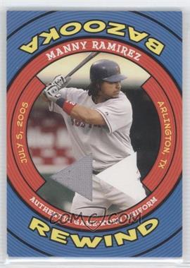 2006 Topps Bazooka - Rewind #BR-MR - Manny Ramirez