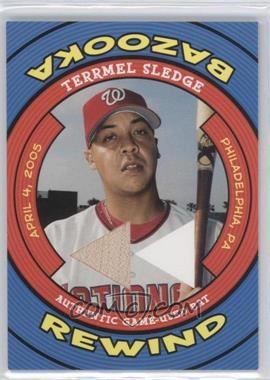 2006 Topps Bazooka - Rewind #BR-TS - Terrmel Sledge