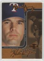 Michael Young, Mark Teixeira [EX to NM] #/150